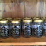 wedding thank you jars