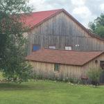 barn and bunkhouse