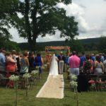 farm wedding isle