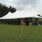 wedding farm tent