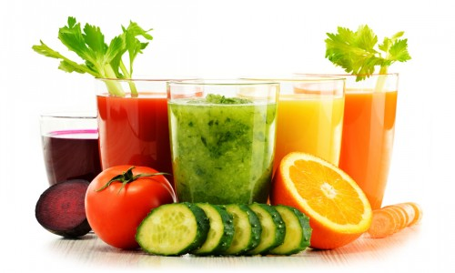 fruit and vegetable juices