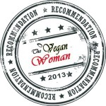The Vegan Woman Recommendation Label