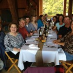 Farm to table dinner at Sanaview