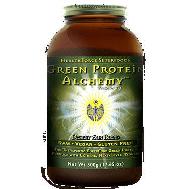 Green Protein Alchemy Desert Sun Blend