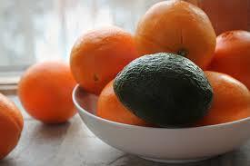 oranges and avacados