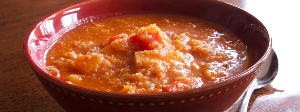 quinoa vegetable stew