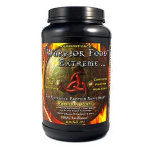 Warrior Food™ Extreme Vanilla Plus