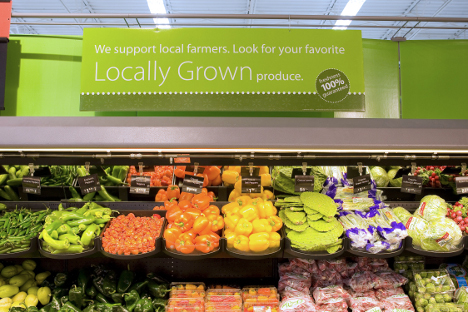 Walmart locally grown produce