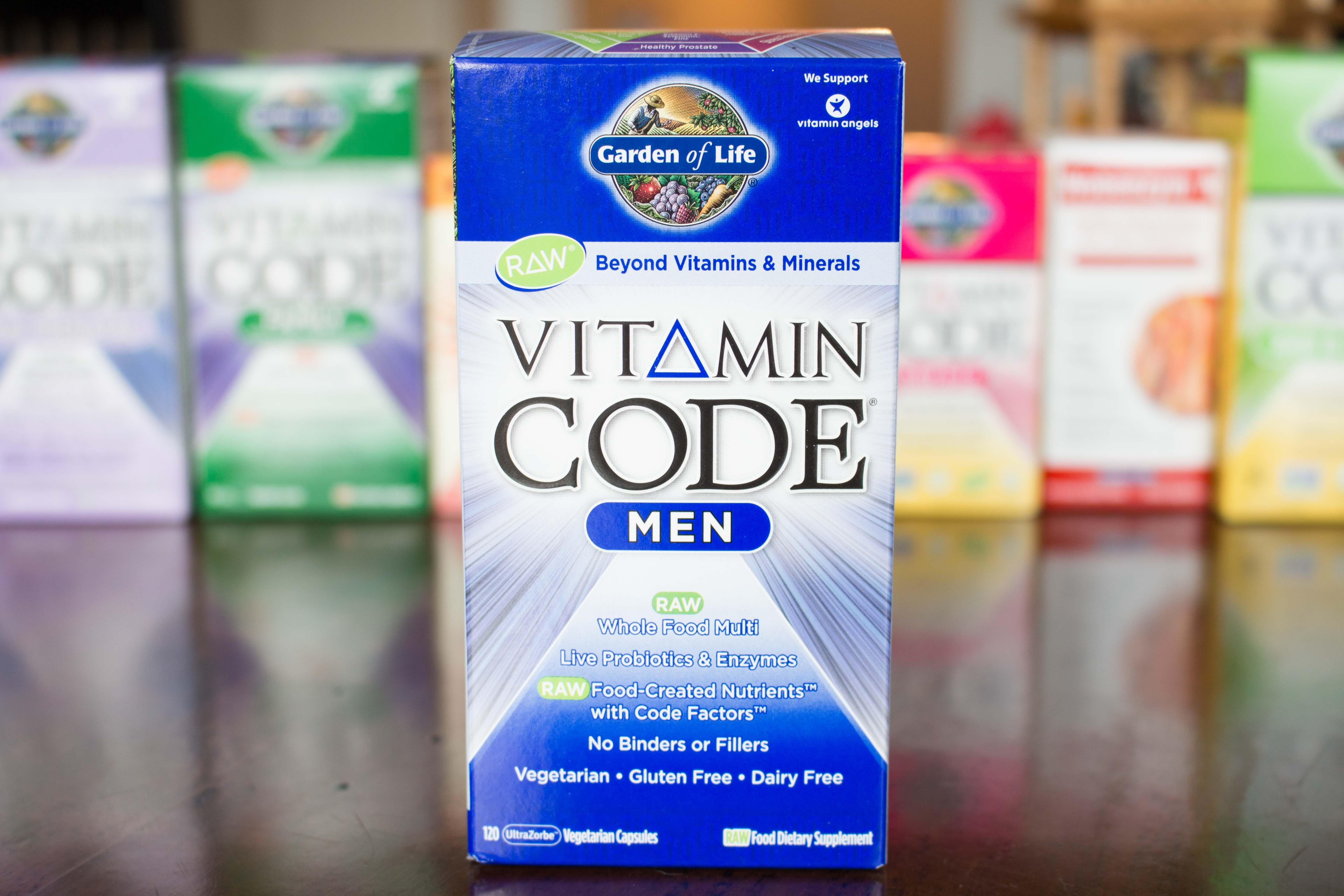 Vitamin Code Men Sanaview