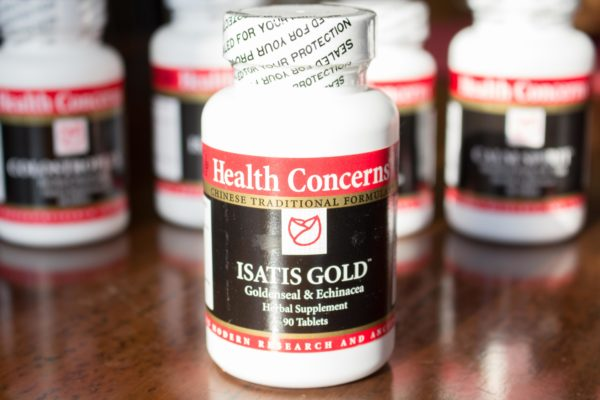 Health Concerns Isatis Gold